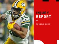 Lesões: Randall Cobb descartado para Packers no domingo