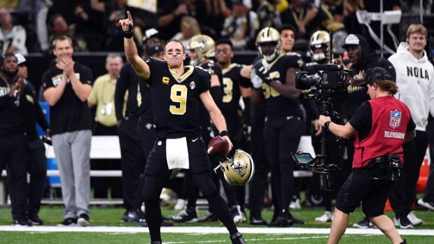Brees define a marca TD de todos os tempos da NFL, enquanto os santos esmagam Colts – TSN
