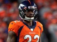 Broncos CB Kareem Jackson suspendeu dois jogos
