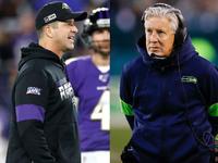 Ravens e Seahawks treinam equipes do Pro Bowl