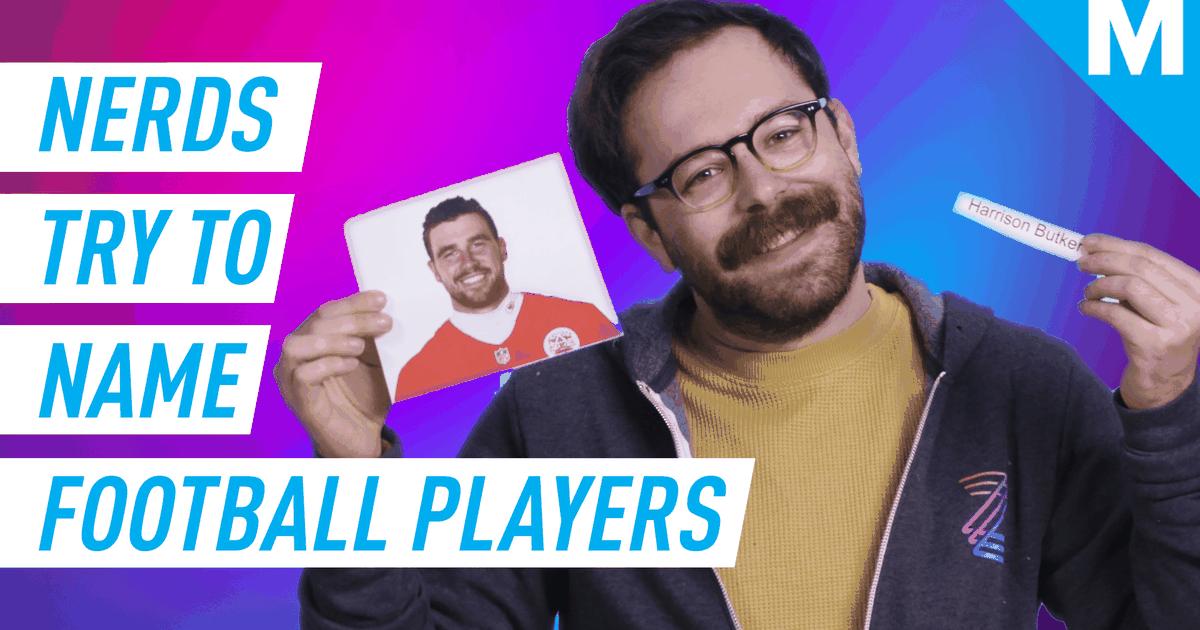 Tentamos adivinhar os nomes desses jogadores de futebol americano da NFL e foi muito mal