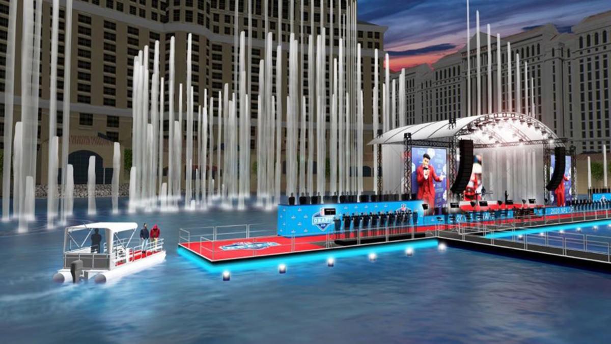Perspectivas serão transportadas para o tapete vermelho de barco no Draft da NFL 2020 em Las Vegas – Sports Illustrated