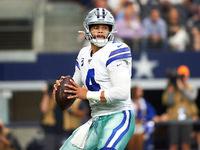 Cowboys: Situação contratual de Dak 'consertando para esquentar'