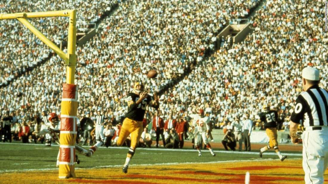 O primeiro Super Bowl, em imagens