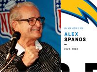 O proprietário dos carregadores Alex Spanos viveu a vida com paixão, energia – NFL.com
