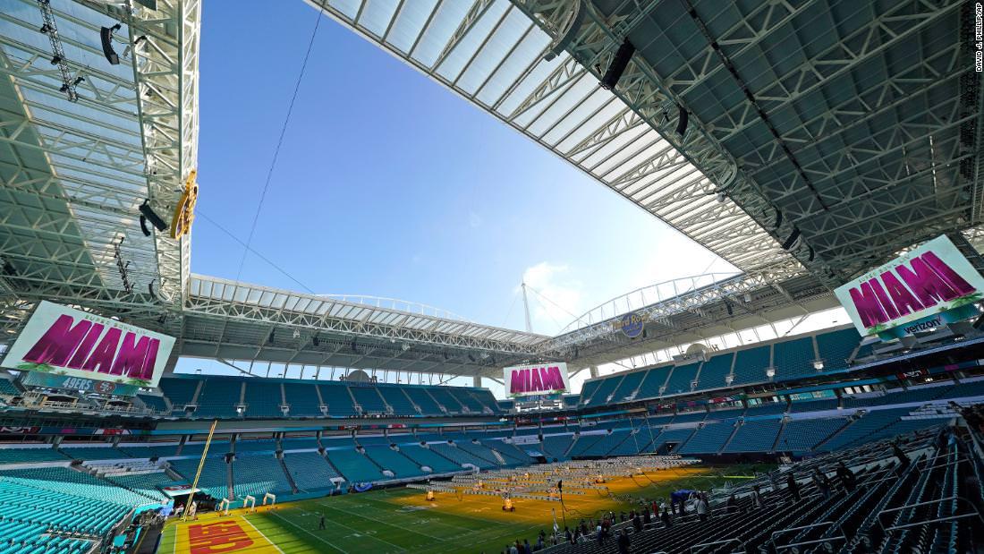 Super Bowl LIV começa em Miami