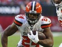 Stump Mitchell: Browns RBs têm 'negócios inacabados'