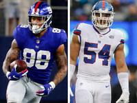 Lesões: Evan Engram (joelho) descartou contra Eagles – NFL.com