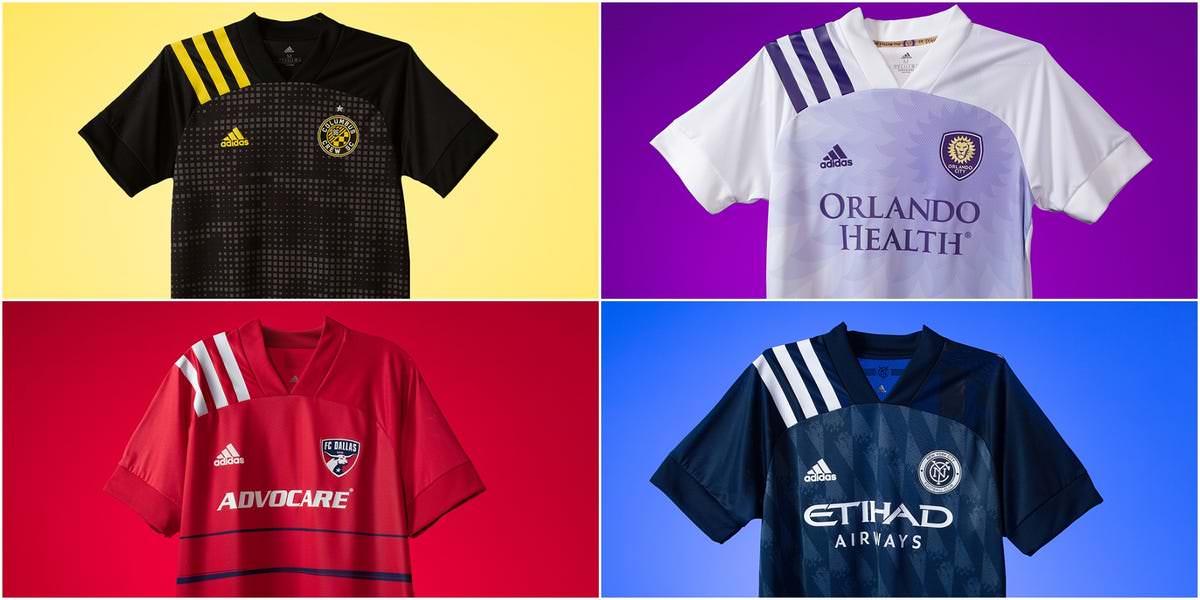RANKED: De obras de arte minimalistas a visuais vistosos, a nova camisa de toda equipe da MLS para a temporada 2020