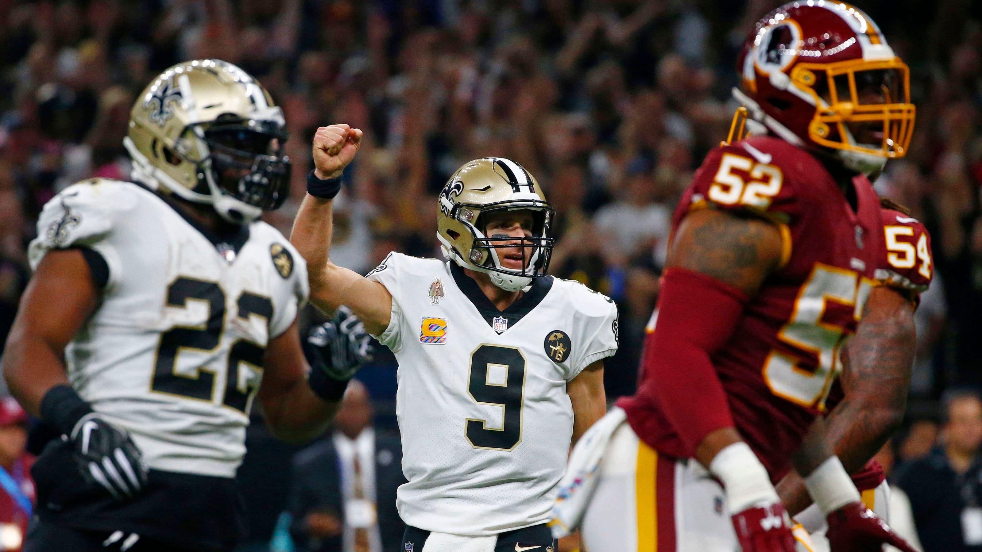 Rankings de potência da NFL: os Santos de Drew Brees fazem uma declaração, Bortles deixa para baixo Jaguars