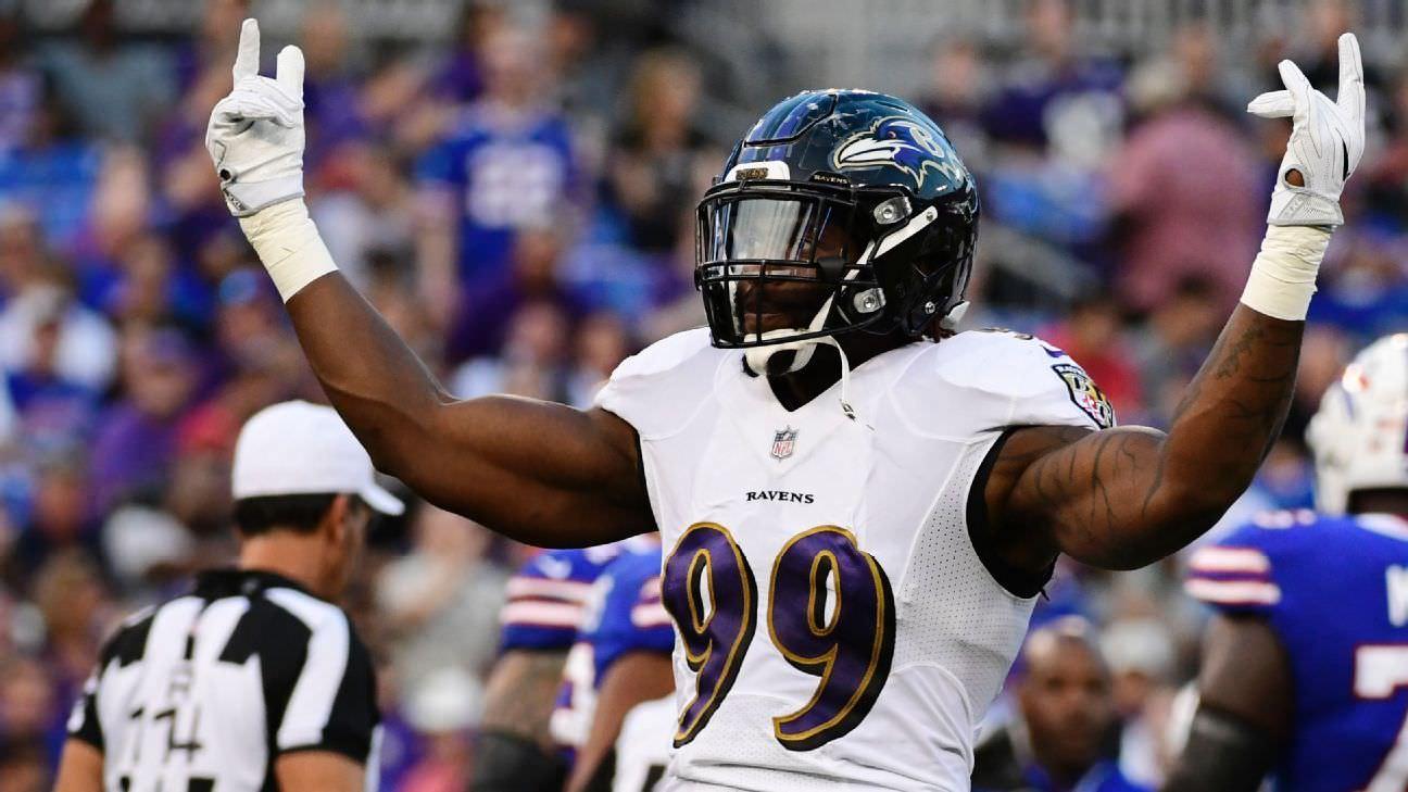 Ravens coloca etiqueta de franquia no passador Judon