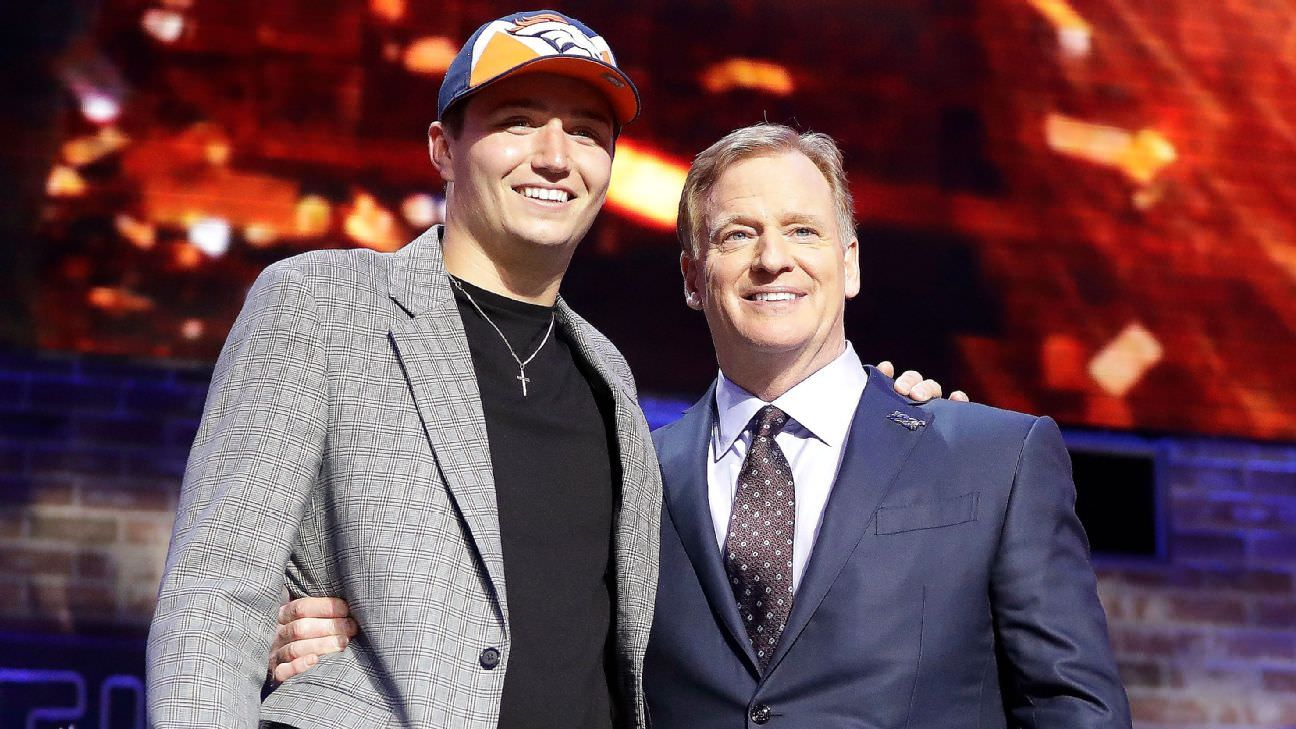 NFL discorda dos GMs no draft de abril, dizem fontes