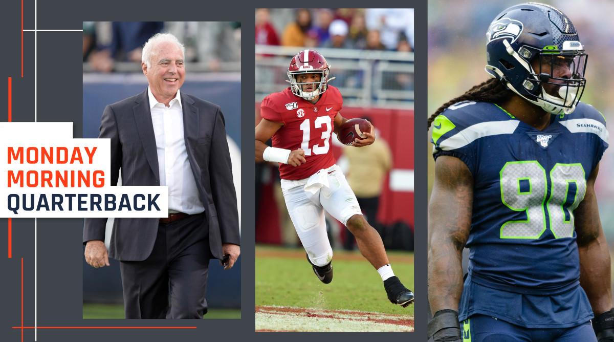 Jeffrey Lurie e Robert Kraft Step Up; Problemas com Física Cancelada; Rascunhos – Sports Illustrated