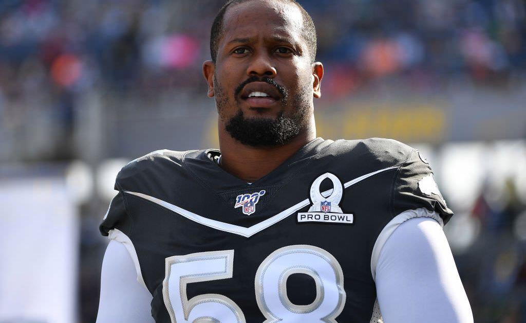 NFL Star Von Miller testa positivo para coronavírus