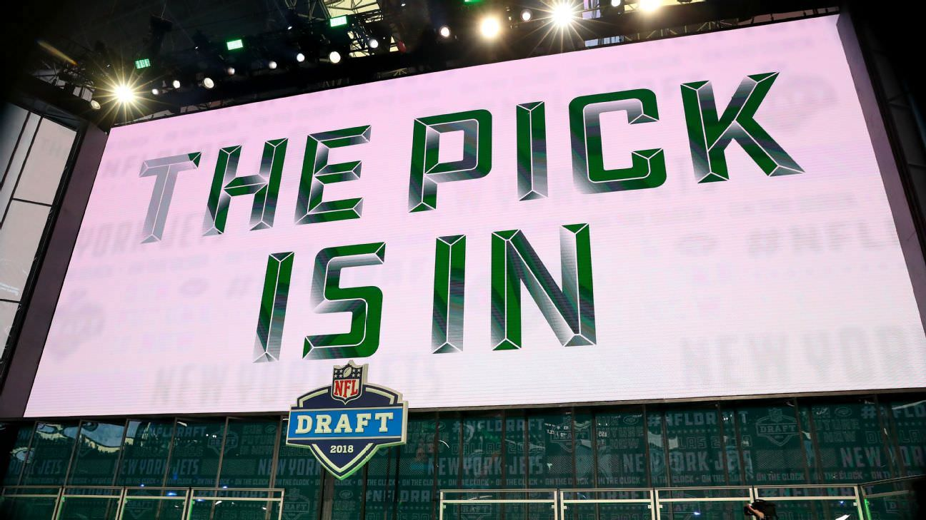 Sportsbooks vêem grande interesse em apostas no draft da NFL
