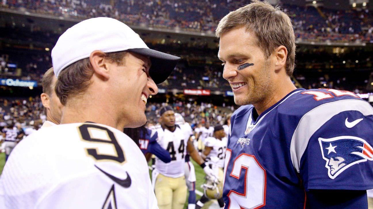 Agenda da NFL para 2020 – Tom Brady enfrenta o Drew Brees 'Saints em estreia nos Buccaneers