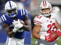 Colts empolgado com '1-1 punch' nos RBs Mack, Taylor