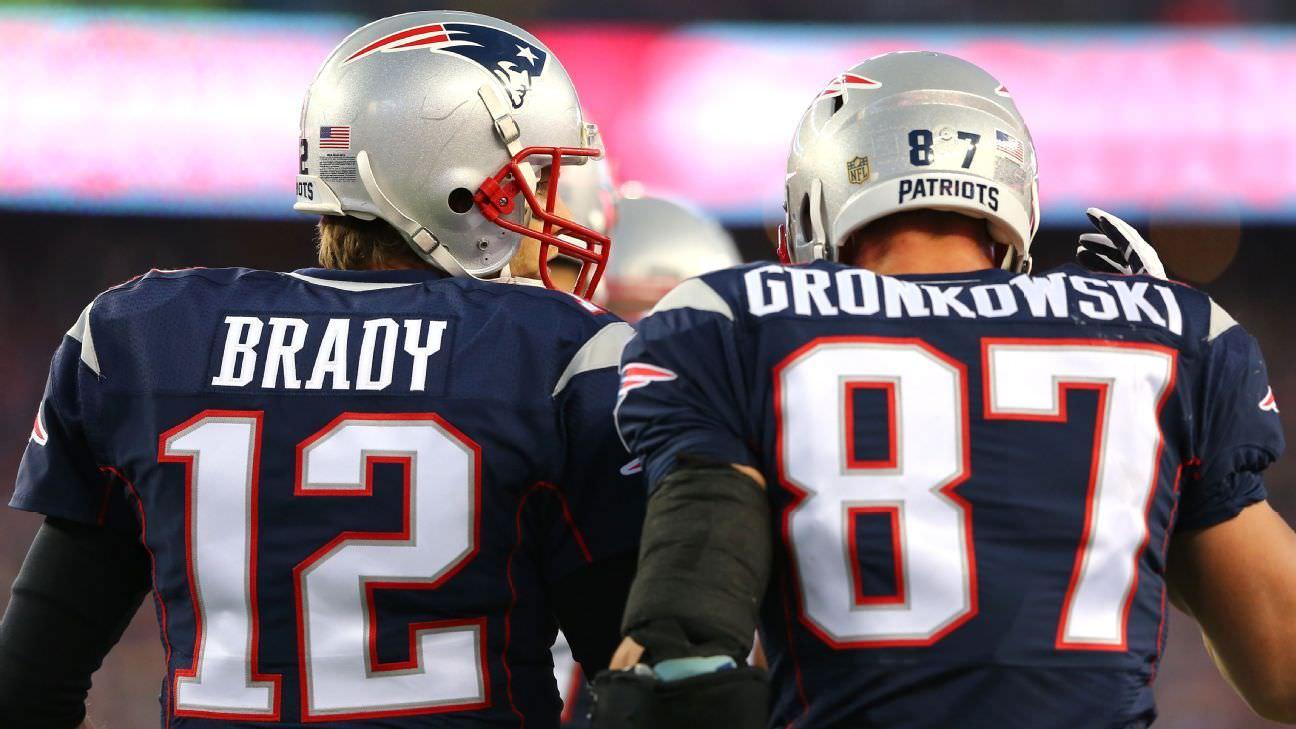 Ranking das 25 maiores atualizações de posição da off-season da NFL, de Brady e Gronk a um kicker