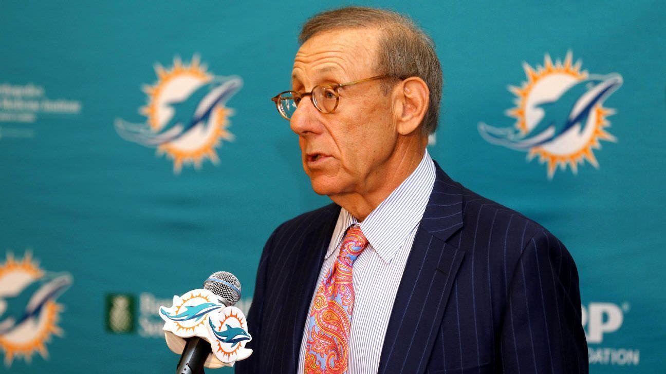 Dono de golfinhos, Stephen Ross, diz que a temporada da NFL 'definitivamente' acontecerá, planos para torcedores nos estádios