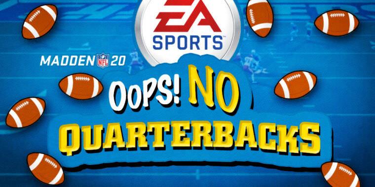 Os problemas técnicos da Madden NFL estavam em exibição no campeonato da ESPN