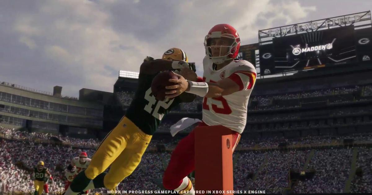 Madden NFL 21 jogabilidade de próxima geração revelada