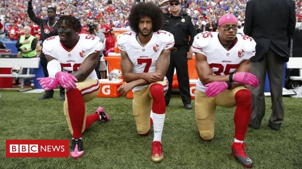 NFL diz que protestos dos jogadores agora devem ser permitidos