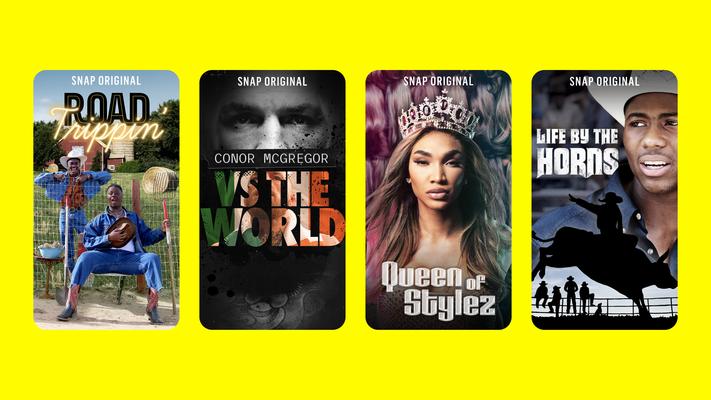 Snap anuncia nova lista de Snap Originals