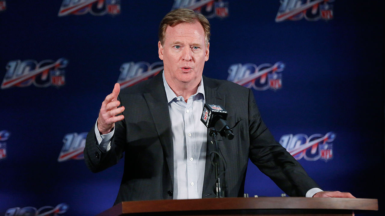 """Roger Goodell, da NFL, diz que """"estávamos errados"""", incentiva os jogadores a protestarem – Sportsnet.ca"""
