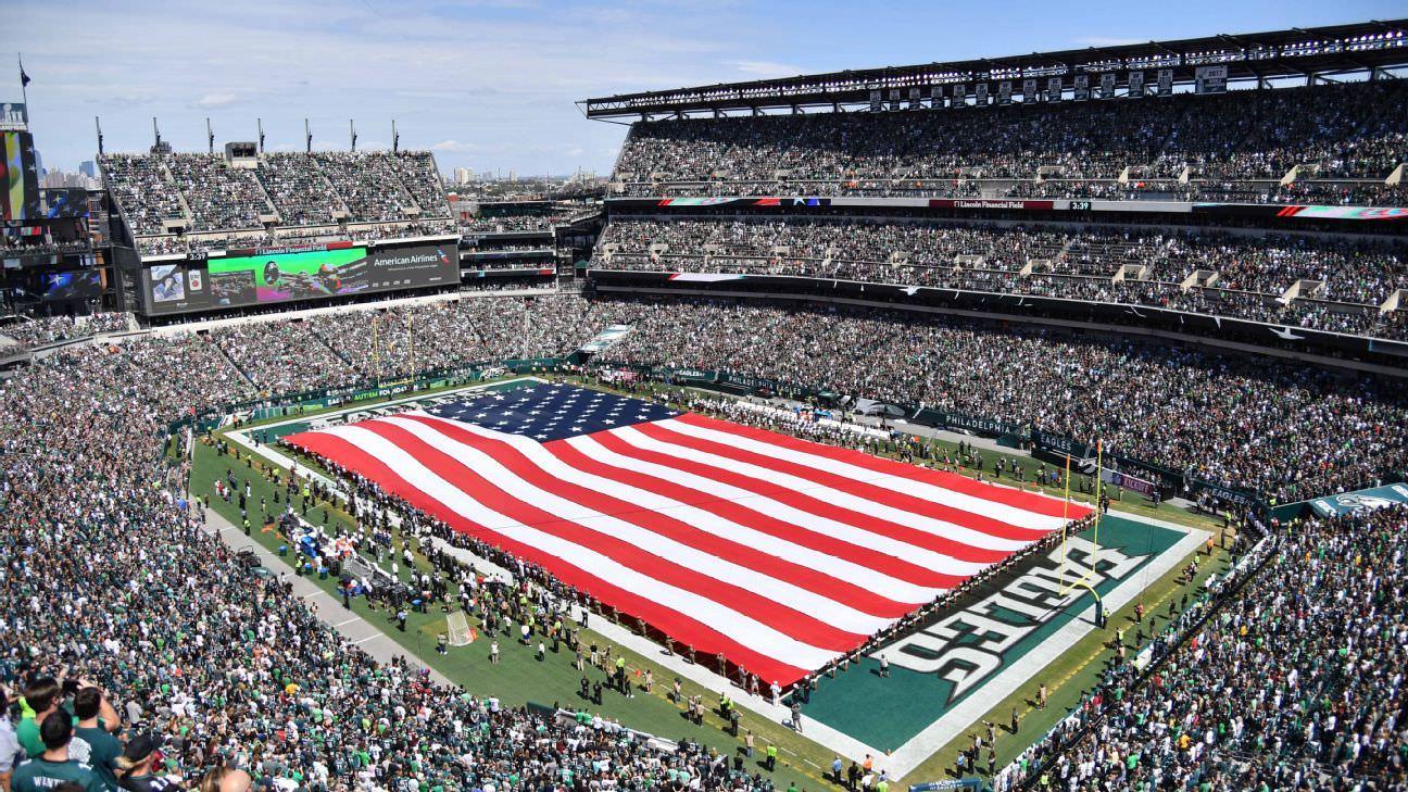 Fonte: NFL planeja jogar hino nacional negro antes dos jogos da Semana 1