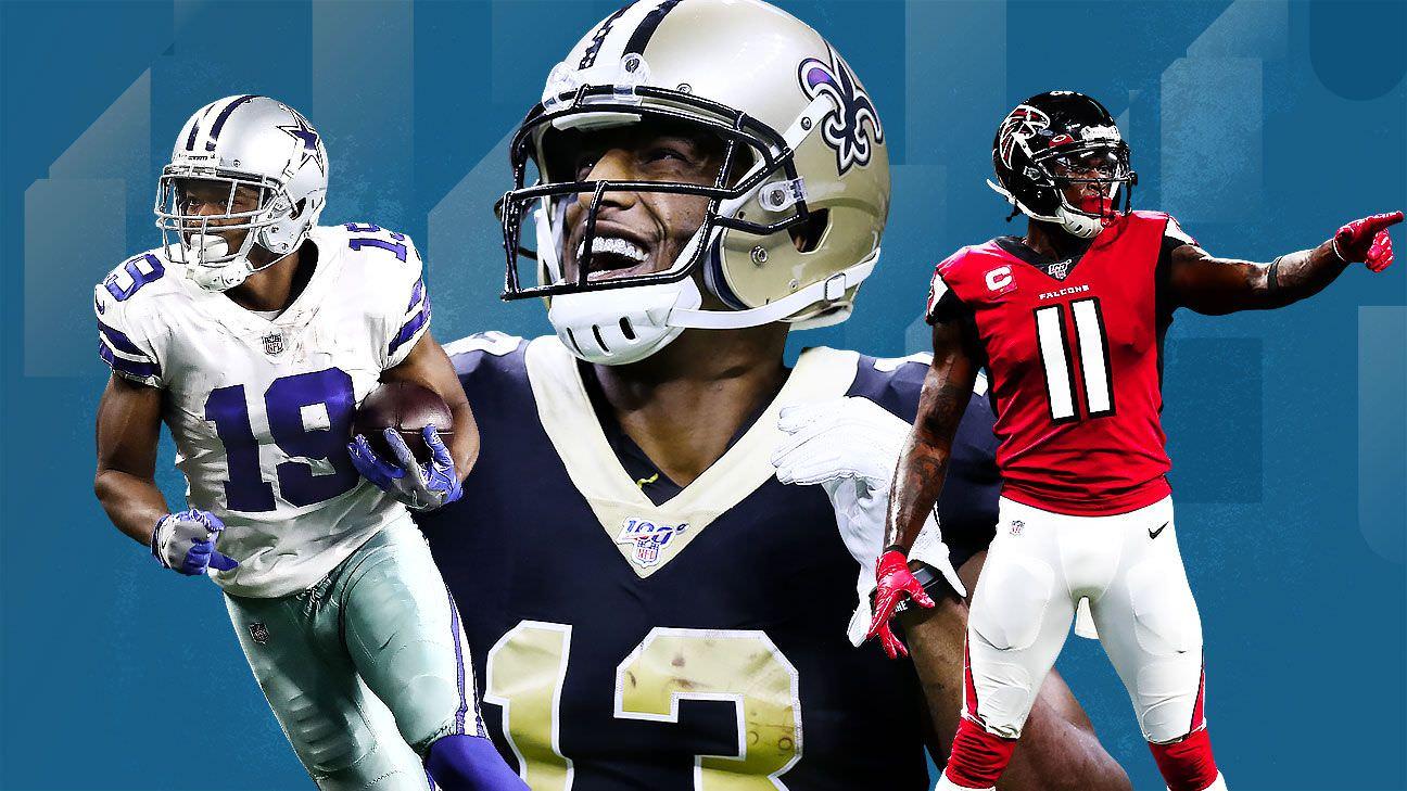 Classificação dos melhores receptores da NFL para 2020 – Executores, jogadores e treinadores debatem os 10 melhores