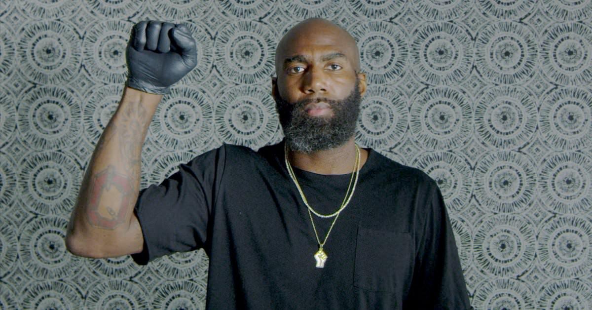 Como Malcolm Jenkins une essa poderosa vida negra importa vídeo ESPYs