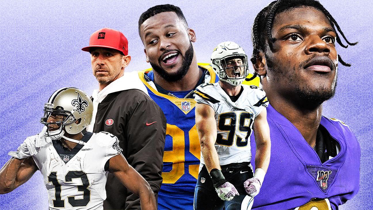 NFL Future Power Rankings – Projeções para todas as 32 equipes nos próximos três anos
