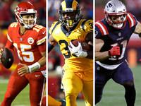 Rankings ofensivos do jogador, semana 8: Os chefes ostentam a ofensa a mais assustadora – NFL.com