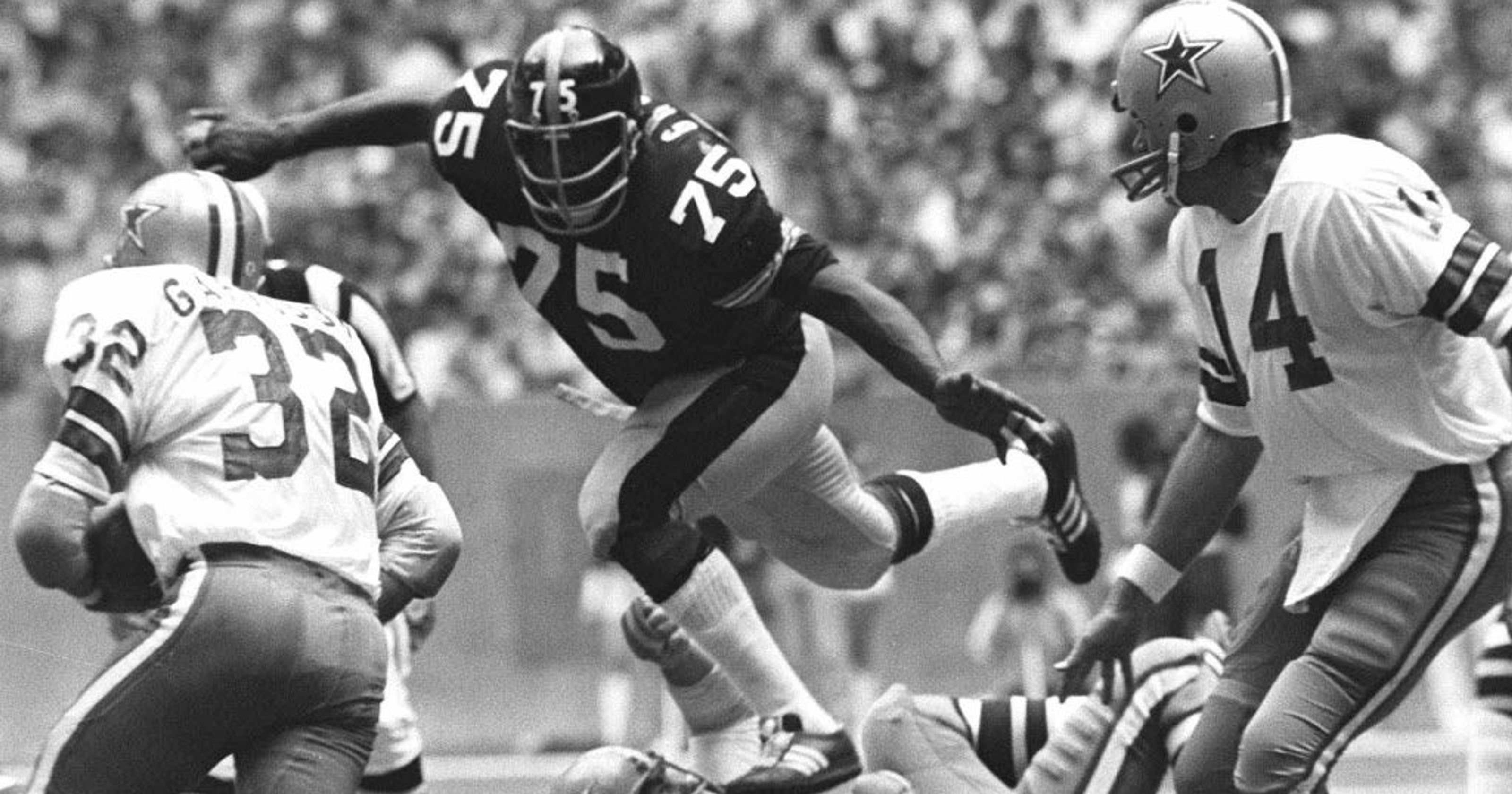 Hall of Famer 'Mean' Joe Greene certeza se ele poderia prosperar com as modernas regras da NFL