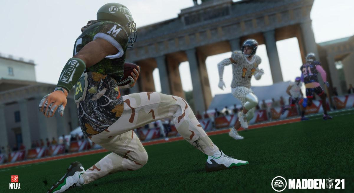 O modo The Yard do Madden NFL 21 parece que está faltando, bem, o pátio