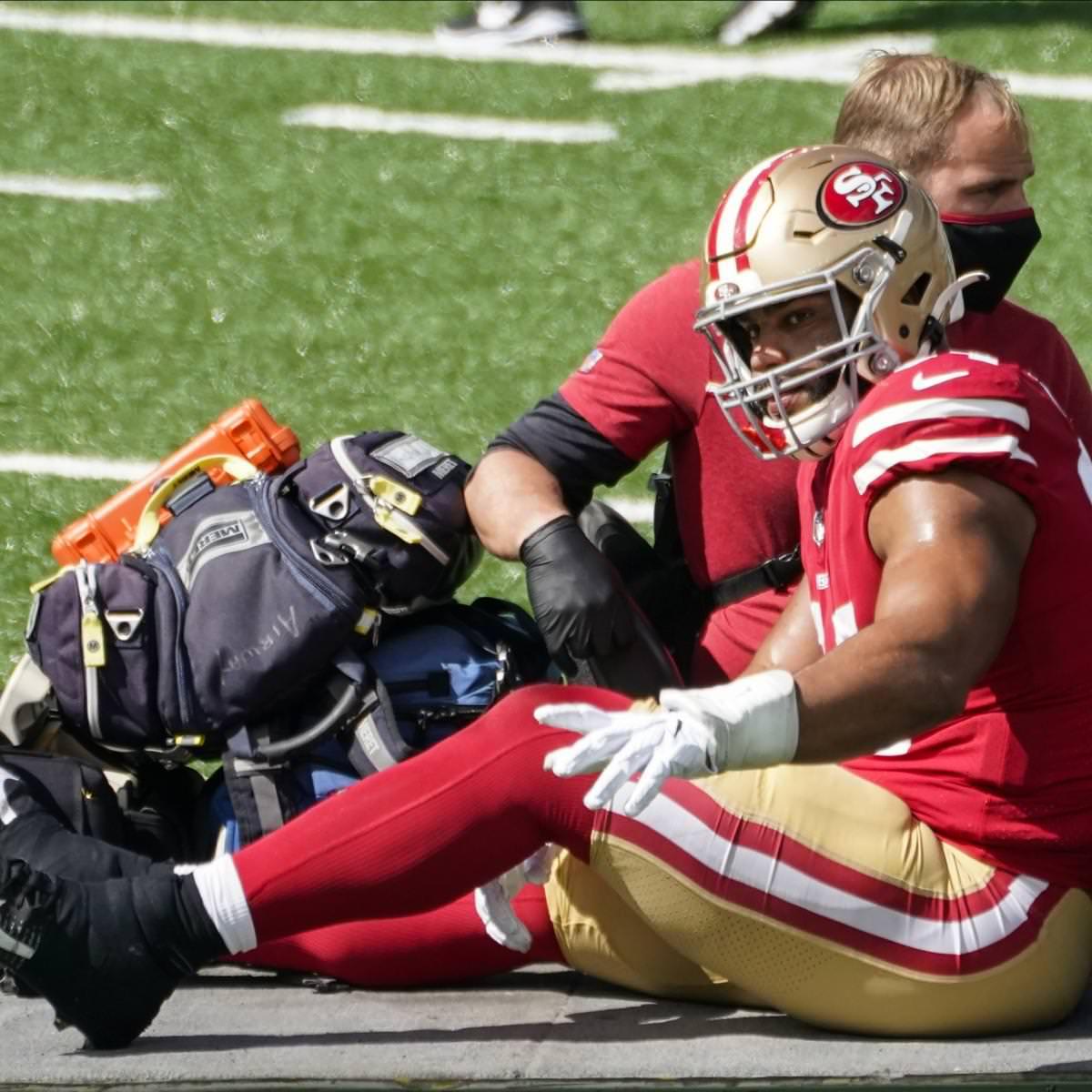 Lesão de Solomon Thomas de 49ers diagnosticada como ACL rasgada, irá perder o resto da temporada