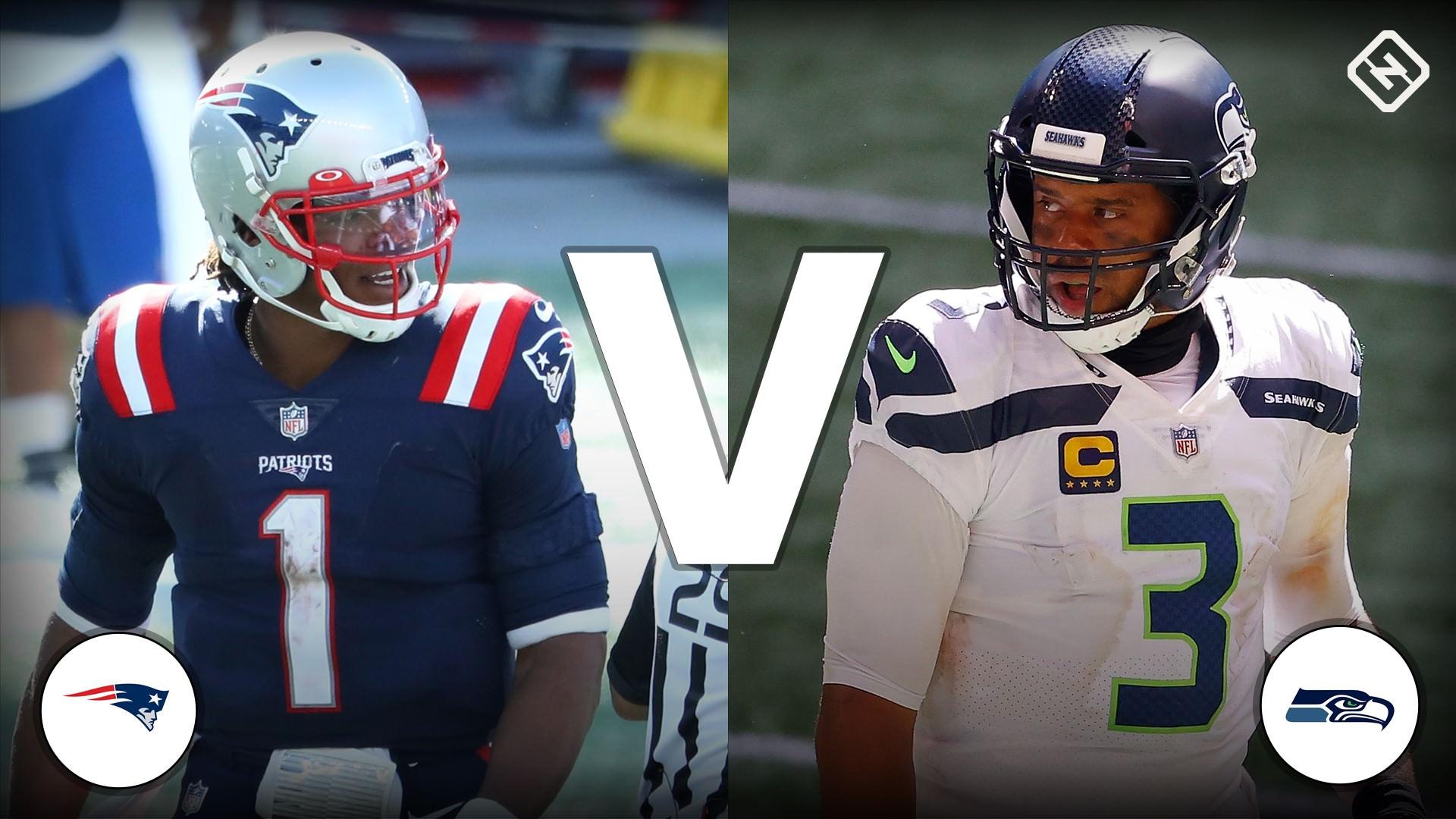 Probabilidades, previsão e tendências de apostas do Patriots vs. Seahawks para o jogo 'Sunday Night Football' da NFL