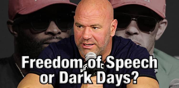 Dana White em Dark Tone do UFC Vegas 11: 'This is the Fight Game!'