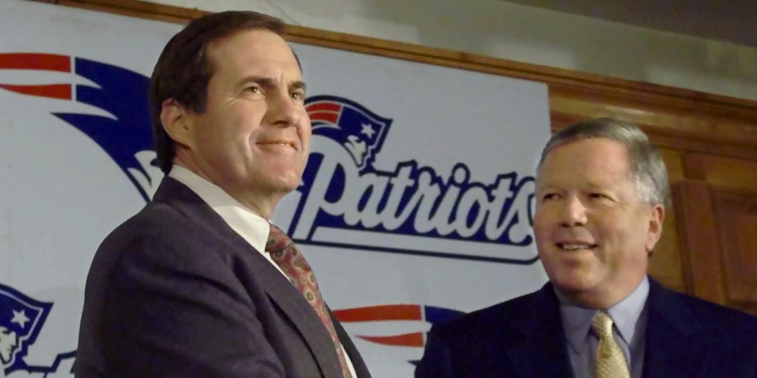 ONDE ELES ESTÃO AGORA? Os treinadores da NFL durante a temporada de 2000, primeiro de Bill Belichick com os Patriots