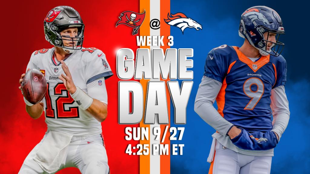 Transmissão ao vivo de Tampa Bay Buccaneers x Denver Broncos, como assistir, previsões de futebol da NFL, odds, canal de TV, horário de início
