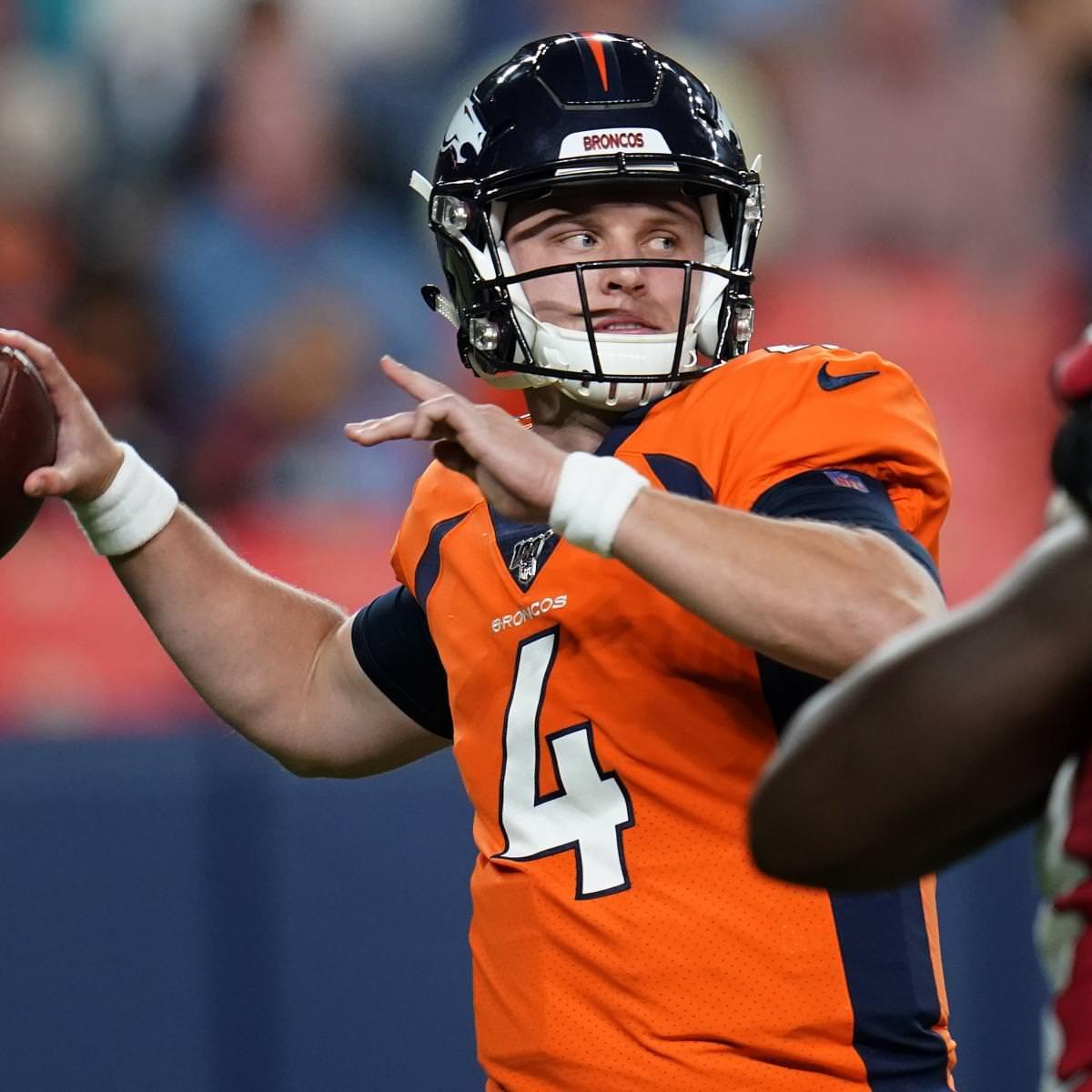 Relatório: Brett Rypien vai começar para Broncos vs. Jatos no lugar de Drew Lock