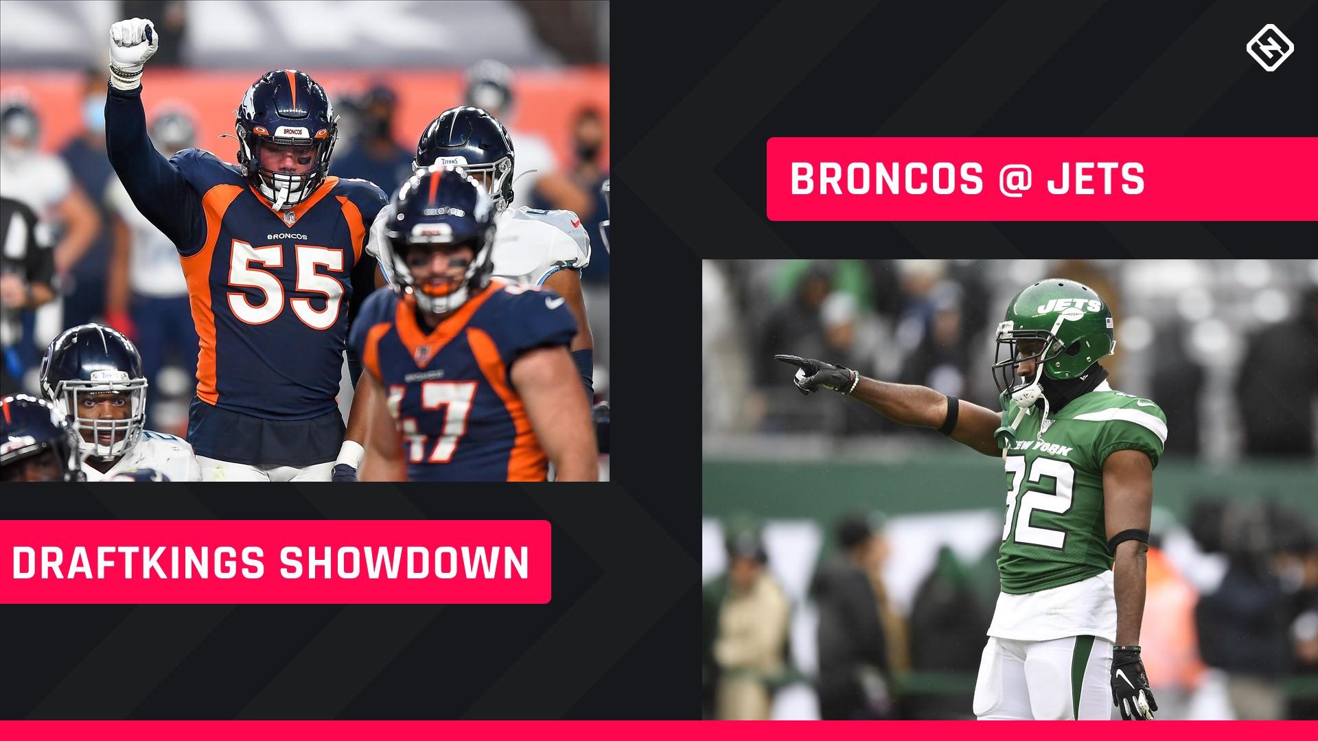 Quinta à noite Football DraftKings Picks: NFL DFS lineup conselho para a semana 4 torneios Jets-Broncos Showdown