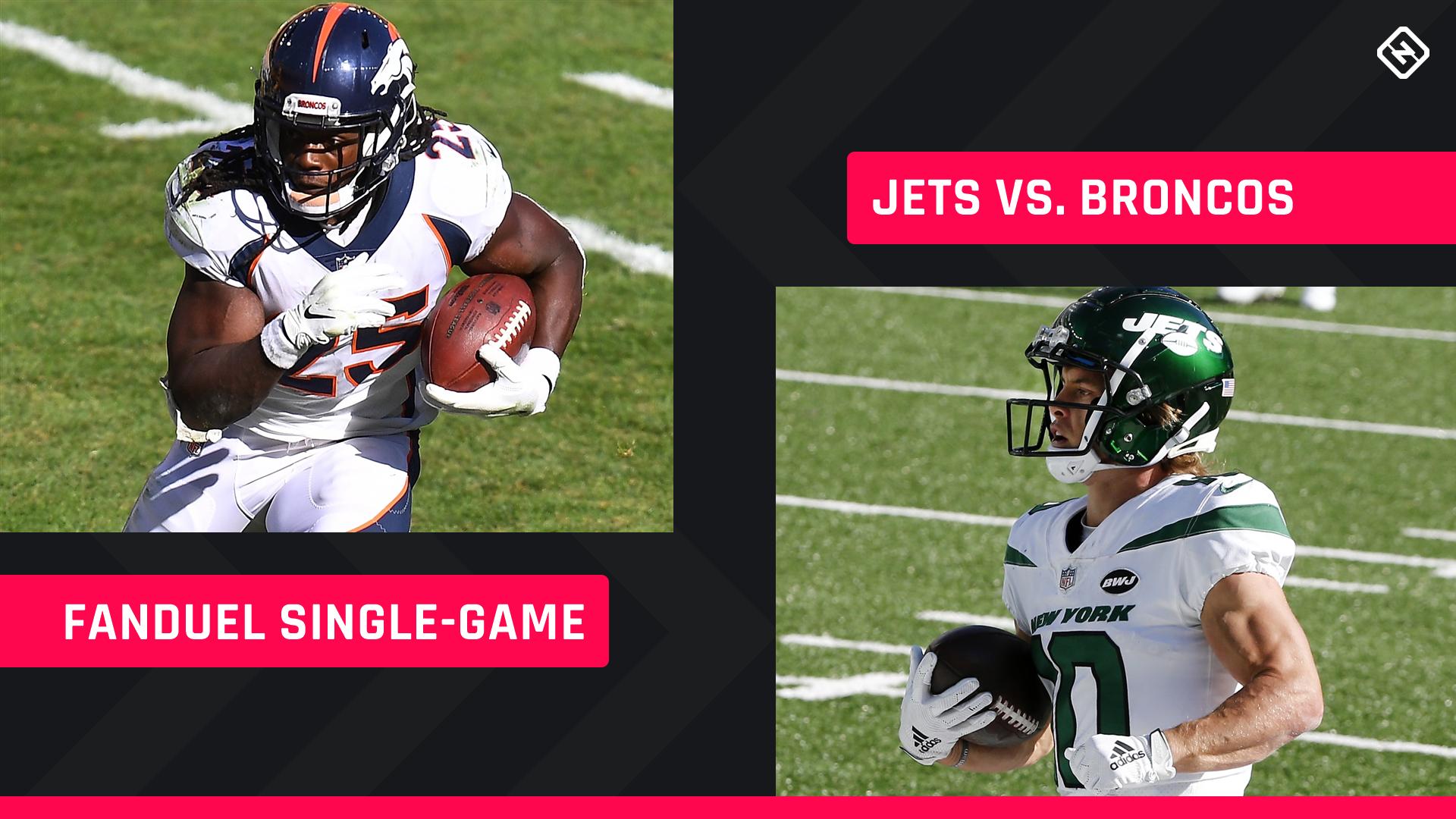 Quinta à noite Football FanDuel Picks: NFL DFS lineup conselho para a semana 4 Jets-Broncos torneios de jogo único