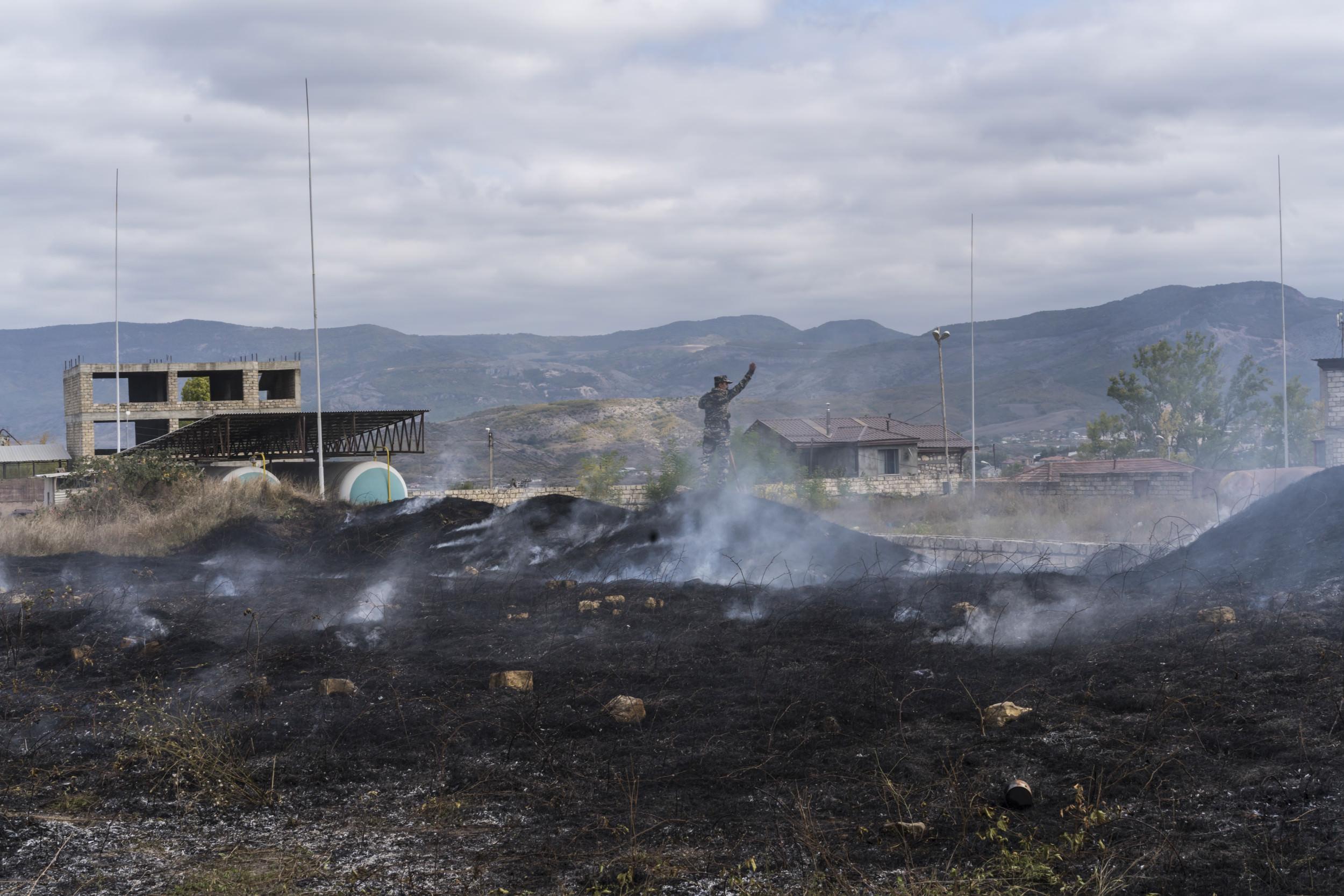 Exclusivo: Funcionário do Centro da Armênia, Azerbaijão Conflito chama de luta até a morte