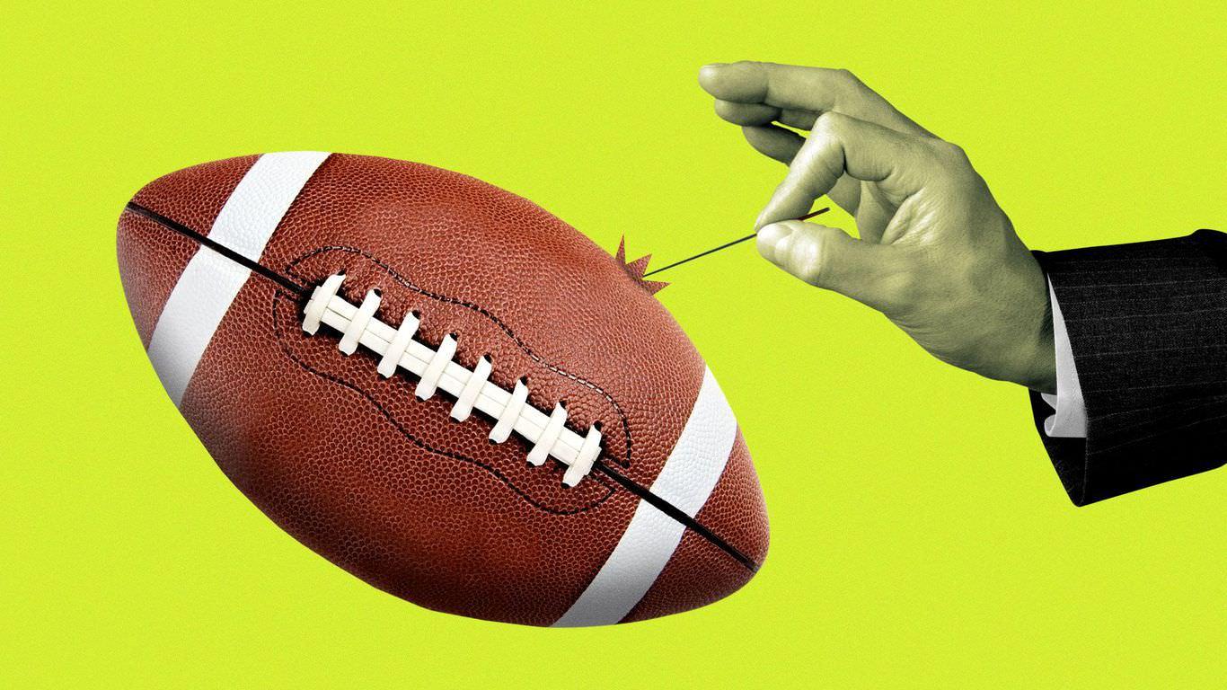 A NFL continua apesar dos jogos adiados e de vários jogadores com teste positivo para o coronavírus