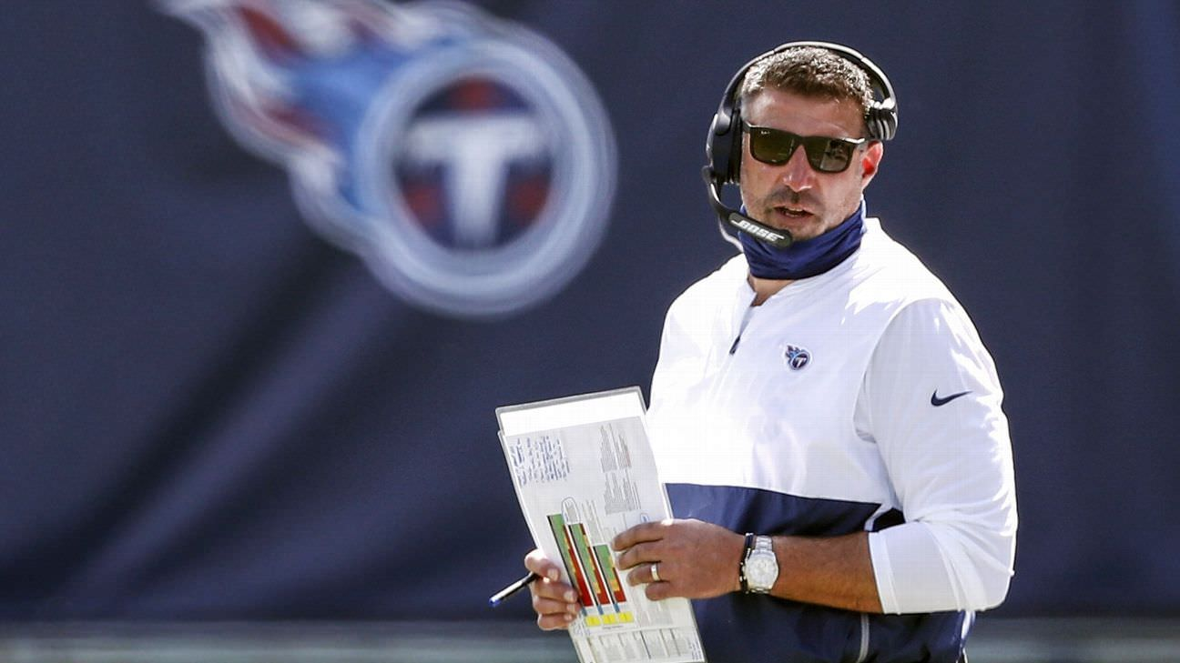 Adeus extras, desistências, bolhas e os problemas dos Titãs: as últimas novidades sobre o problema COVID-19 da NFL