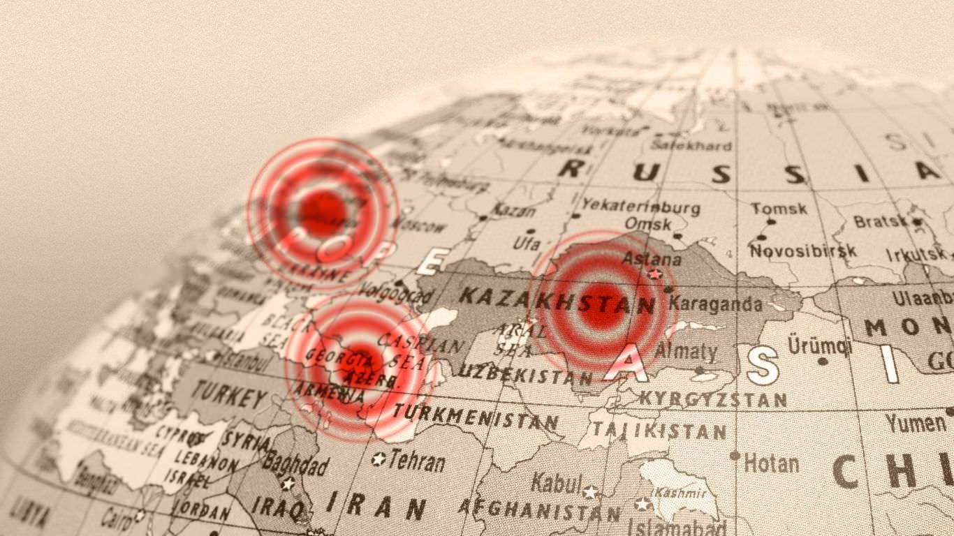 A esfera de influência da Rússia está saindo do controle