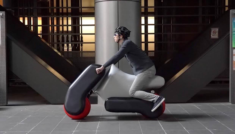 Vídeo sexta-feira: Poimo é uma E-bike inflável portátil