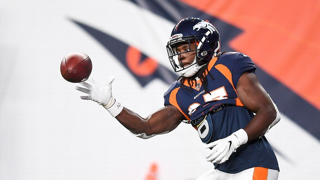 Gordon, o principal rusher dos Broncos, citado por DUI
