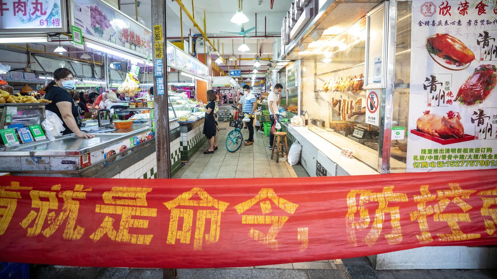 A inflação na China diminui ainda mais com a recuperação das fazendas